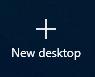 New Desktop Button